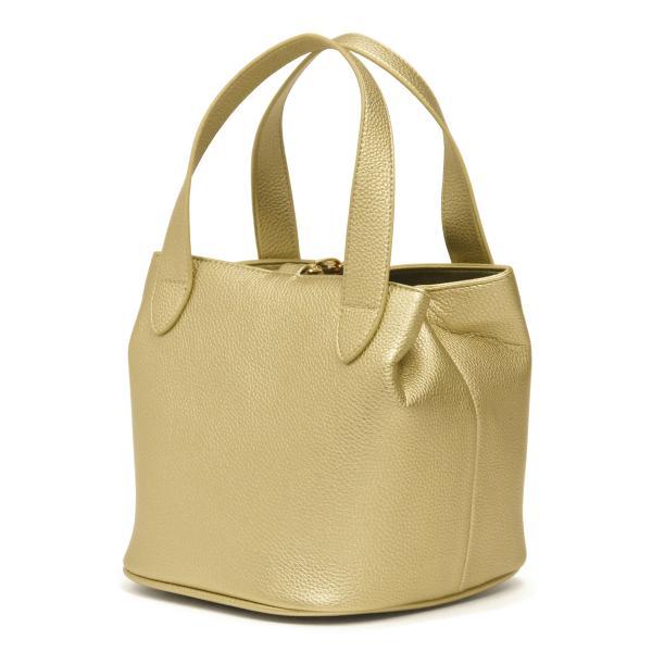 キューブバッグ トートバッグ レディース 通勤 軽量 大容量 ハンドバッグ おしゃれ 合成皮革 ゴールド シャイニー|carron|08