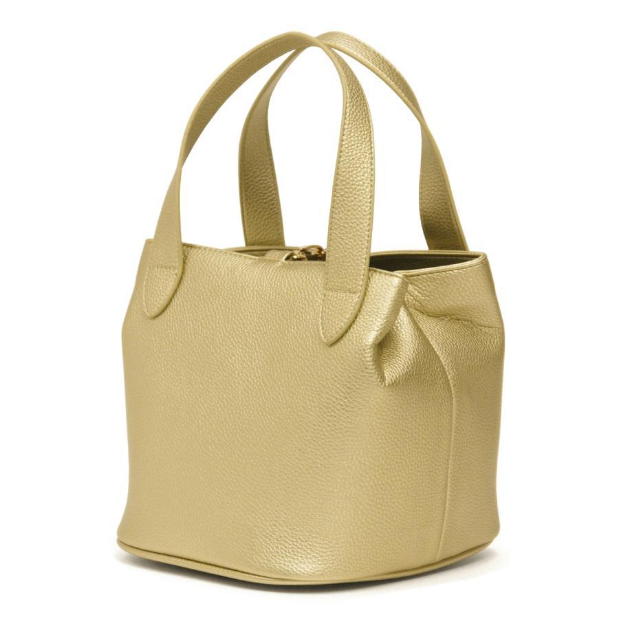 キューブバッグ トートバッグ レディース レディス 通勤 軽量 大容量 ハンドバッグ おしゃれ 合成皮革 ゴールド シャイニー bag|carron|17