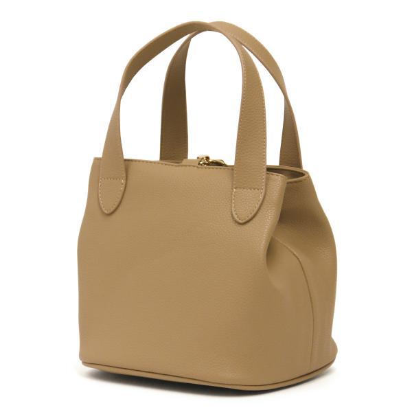 キューブバッグ トートバッグ レディース 通勤 軽量 大容量 ハンドバッグ おしゃれ 合成皮革 ゴールド シャイニー|carron|07