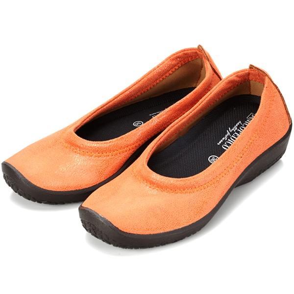 バレエシューズ パンプス レディース レディス 外反母趾 靴 痛くない 走れる アルコペディコ L'ライン BALLERINA LUXE バレリーナルクス|carron|20
