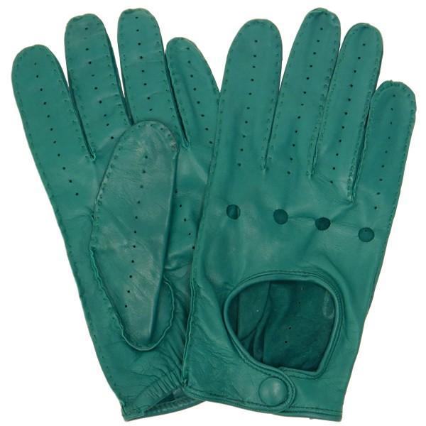 ドライビンググローブ 本革 革手袋 メンズ Men's 防寒 バイク 薄い イタリア製 羊革 レザー S M 皮 長指 フルフィンガー|carron|08