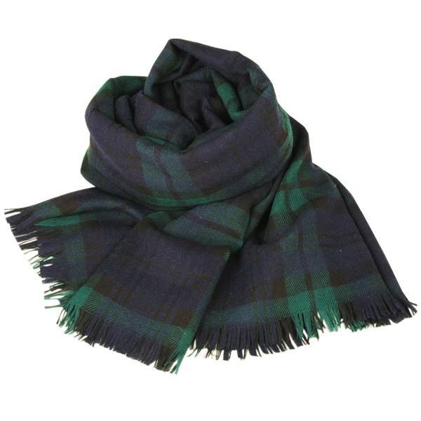 大判ストール レディース レディス タータン ウール マフラー 巻き方 アンゴラ混 薄手 タータンチェック 英国 ロキャロン Lochcarron of Scotland|carron|11