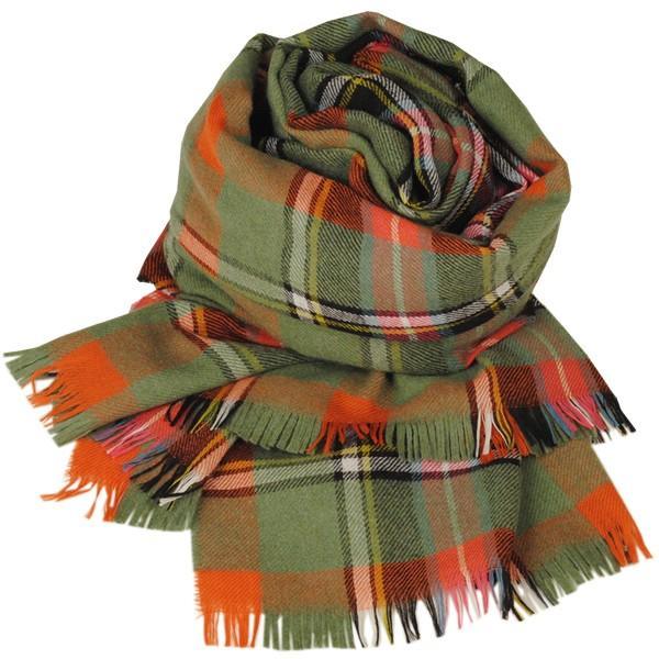 大判ストール レディース レディス タータン ウール マフラー 巻き方 アンゴラ混 薄手 タータンチェック 英国 ロキャロン Lochcarron of Scotland|carron|10