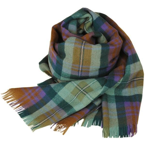 大判ストール レディース レディス タータン ウール マフラー 巻き方 アンゴラ混 薄手 タータンチェック 英国 ロキャロン Lochcarron of Scotland|carron|14