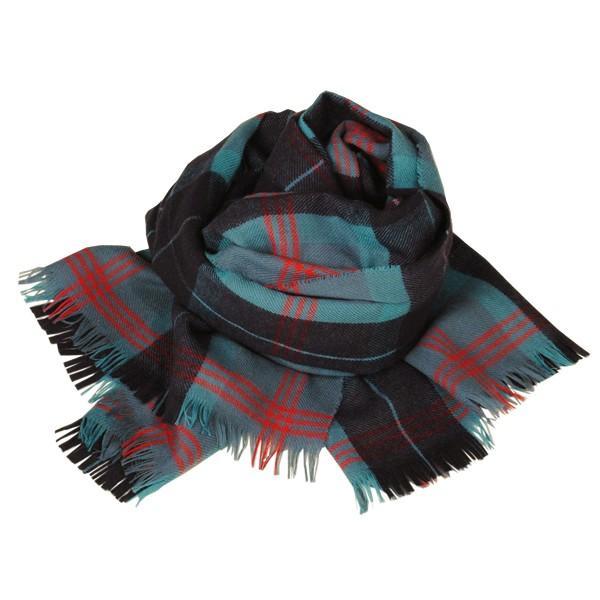 大判ストール レディース レディス タータン ウール マフラー 巻き方 アンゴラ混 薄手 タータンチェック 英国 ロキャロン Lochcarron of Scotland|carron|13