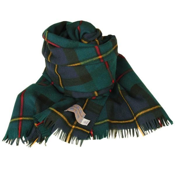大判ストール レディース レディス タータン ウール マフラー 巻き方 アンゴラ混 薄手 タータンチェック 英国 ロキャロン Lochcarron of Scotland|carron|09