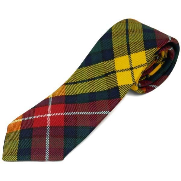 ネクタイ ブランド おしゃれ プレゼント メンズ タータンチェック柄 ロキャロン ウール100% 英国スコットランド製 Lochcarron of Scotland Men's brand carron 19