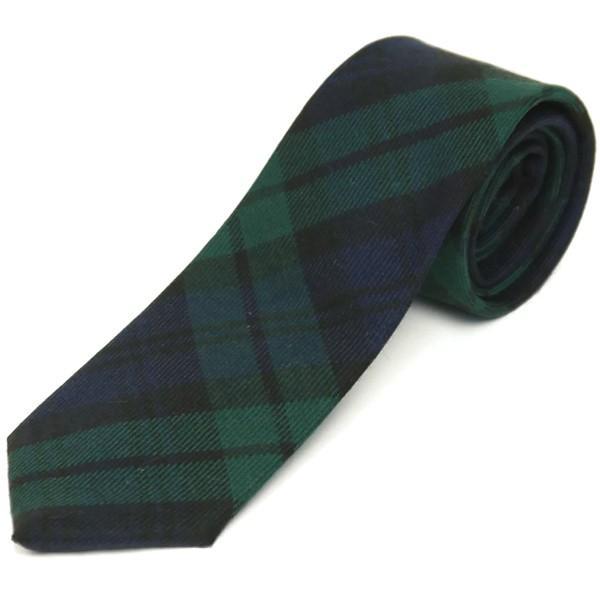 ネクタイ ブランド おしゃれ プレゼント メンズ タータンチェック柄 ロキャロン ウール100% 英国スコットランド製 Lochcarron of Scotland Men's brand carron 31