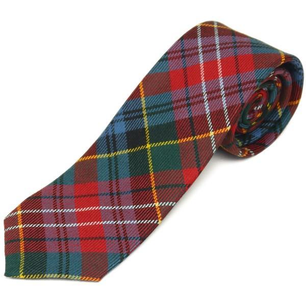 ネクタイ ブランド おしゃれ プレゼント メンズ タータンチェック柄 ロキャロン ウール100% 英国スコットランド製 Lochcarron of Scotland Men's brand carron 28