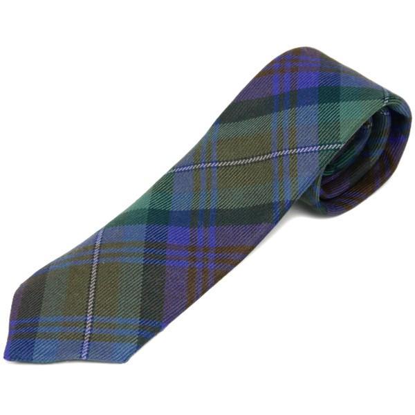 ネクタイ ブランド おしゃれ プレゼント メンズ タータンチェック柄 ロキャロン ウール100% 英国スコットランド製 Lochcarron of Scotland Men's brand carron 15
