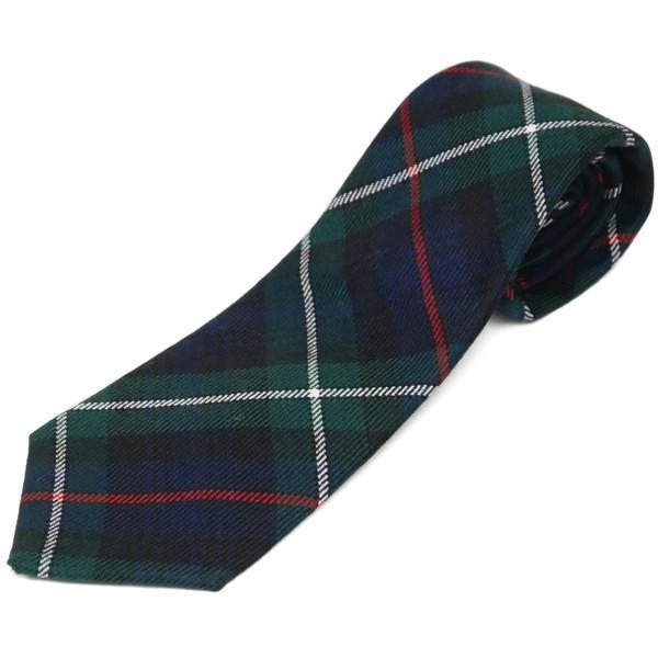 ネクタイ ブランド おしゃれ プレゼント メンズ タータンチェック柄 ロキャロン ウール100% 英国スコットランド製 Lochcarron of Scotland Men's brand carron 26