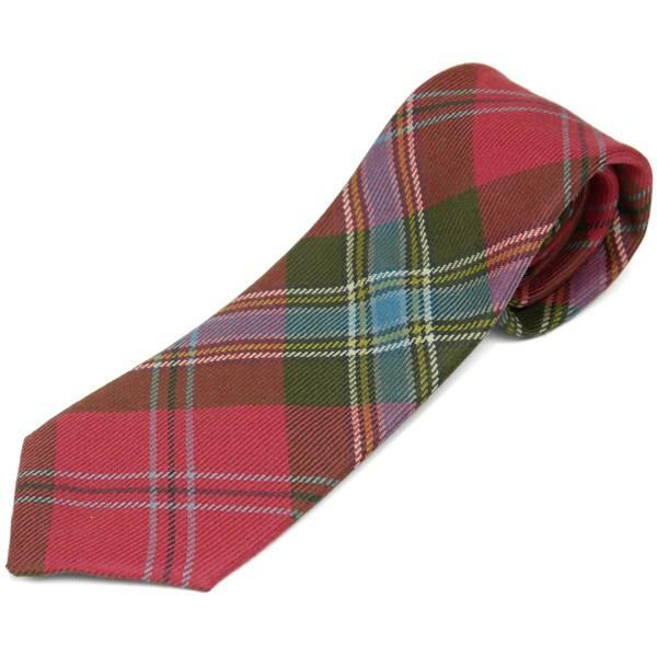ネクタイ ブランド おしゃれ プレゼント メンズ タータンチェック柄 ロキャロン ウール100% 英国スコットランド製 Lochcarron of Scotland Men's brand carron 23