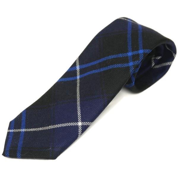 ネクタイ ブランド おしゃれ プレゼント メンズ タータンチェック柄 ロキャロン ウール100% 英国スコットランド製 Lochcarron of Scotland Men's brand carron 24