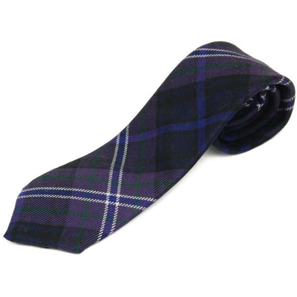 ネクタイ ブランド おしゃれ プレゼント メンズ タータンチェック柄 ロキャロン ウール100% 英国スコットランド製 Lochcarron of Scotland Men's brand carron 22