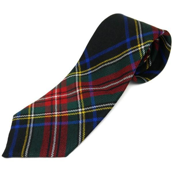 ネクタイ ブランド おしゃれ プレゼント メンズ タータンチェック柄 ロキャロン ウール100% 英国スコットランド製 Lochcarron of Scotland Men's brand carron 27
