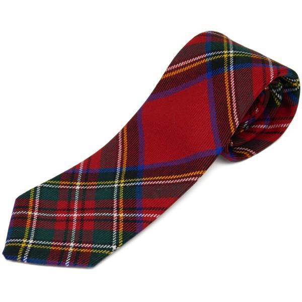 ネクタイ ブランド おしゃれ プレゼント メンズ タータンチェック柄 ロキャロン ウール100% 英国スコットランド製 Lochcarron of Scotland Men's brand carron 18