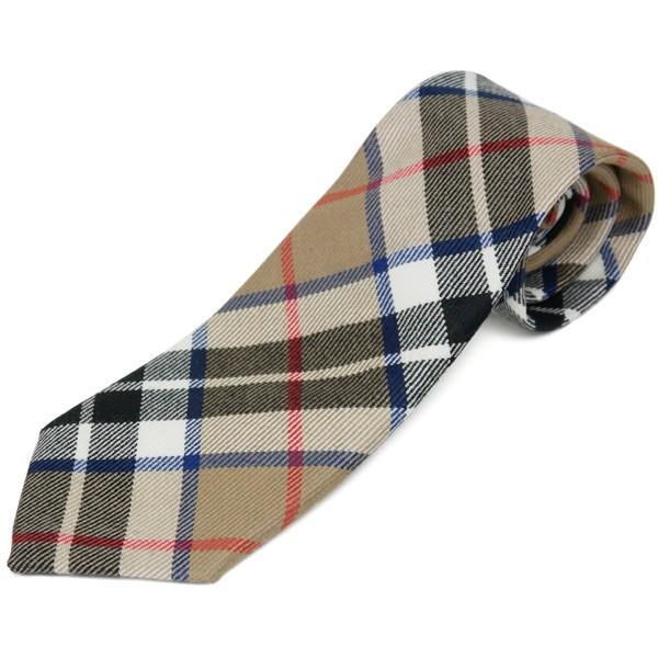 ネクタイ ブランド おしゃれ プレゼント メンズ タータンチェック柄 ロキャロン ウール100% 英国スコットランド製 Lochcarron of Scotland Men's brand carron 16