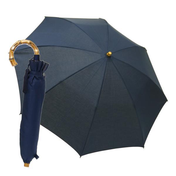 晴雨兼用折りたたみ傘 8本骨 丈夫 日傘 レディース レディス 軽量 日本製 おしゃれ 雨傘 UV コットンピケ スライドショート バンブーハンドル タッセル|carron|20