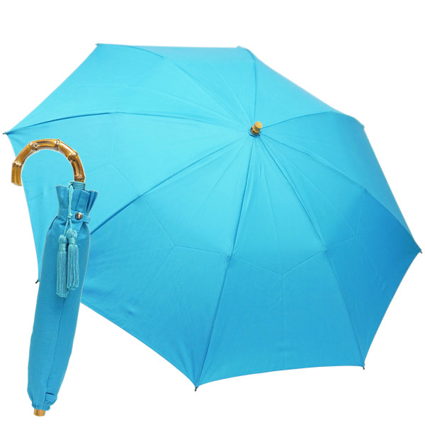 晴雨兼用折りたたみ傘 8本骨 丈夫 日傘 レディース レディス 軽量 日本製 おしゃれ 雨傘 UV コットンピケ スライドショート バンブーハンドル タッセル|carron|22