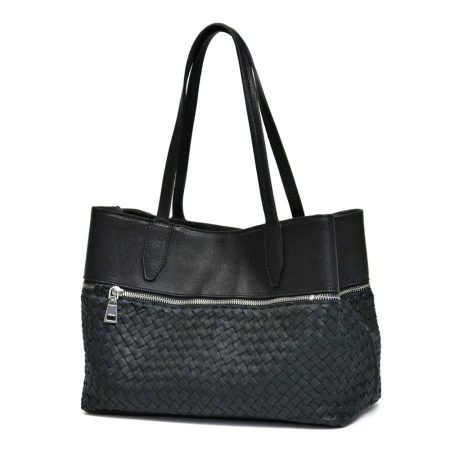 メッシュレザーバッグ トートバッグ レディース レディス 通勤 ショルダー A4 仕事 羊革 イタリア ブランド brand roberto pancani bag|carron|14