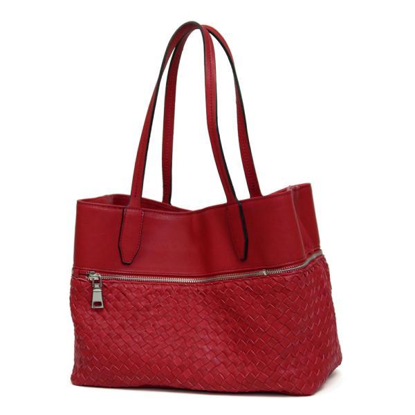 メッシュレザーバッグ トートバッグ レディース レディス 通勤 ショルダー A4 仕事 羊革 イタリアブランド roberto pancani brand bag|carron|09