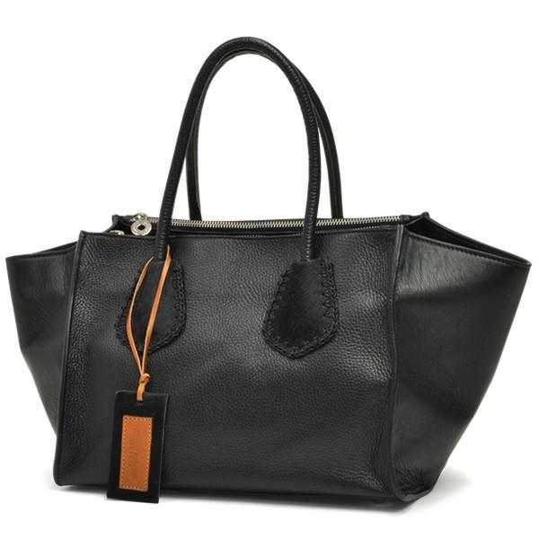 ラゲージトートバッグ レディース レディス 2WAY 斜め掛け 仕事 舟型 カーフレザー イタリアブランド roberto pancani brand bag|carron|08