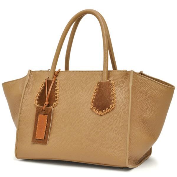 ラゲージトートバッグ レディース レディス 2WAY 斜め掛け 仕事 舟型 カーフレザー イタリアブランド roberto pancani brand bag|carron|10