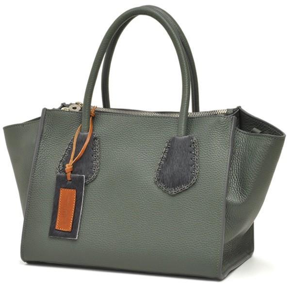 ラゲージトートバッグ レディース レディス 2WAY 斜め掛け 仕事 舟型 カーフレザー イタリアブランド roberto pancani brand bag|carron|09