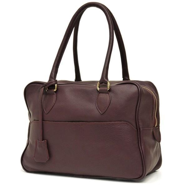 ボストンバッグ レディース 通勤 ショルダーバッグ 2WAY ソフトレザー 本革 イタリアブランド brand POPCORN エメリーヌ レディス bag|carron|12