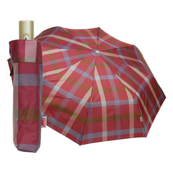 折りたたみ傘 自動開閉 おしゃれ チェック 折り畳み ワンタッチ傘 丈夫 ビジネス レディース レディス メンズ Men's 折りたたみ雨傘 イタリア rainbow|carron|24