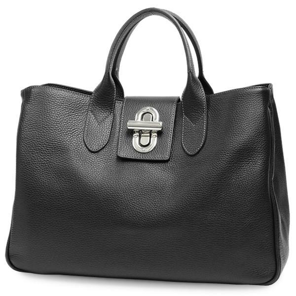 トートバッグ レディース レディス 通勤 大容量 おしゃれ 本革レザー イタリアブランド MAXIMA A4 2層 イレーニア brand bag|carron|16