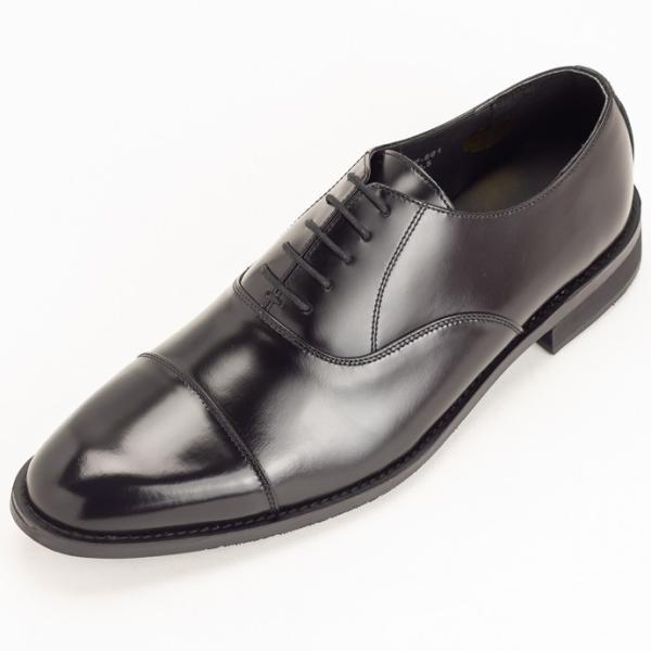 ビジネスシューズ 革靴 ストレートチップ 内羽根 ビジネス メンズ 本革 ガラスレザー 黒 茶 結婚式 就活 フォーマル 日本製 紳士靴 Wall casadepaz 22
