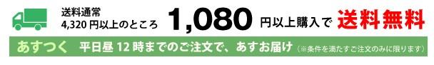 通常4320円以上送料無料のところ今だけ全品送料無料!