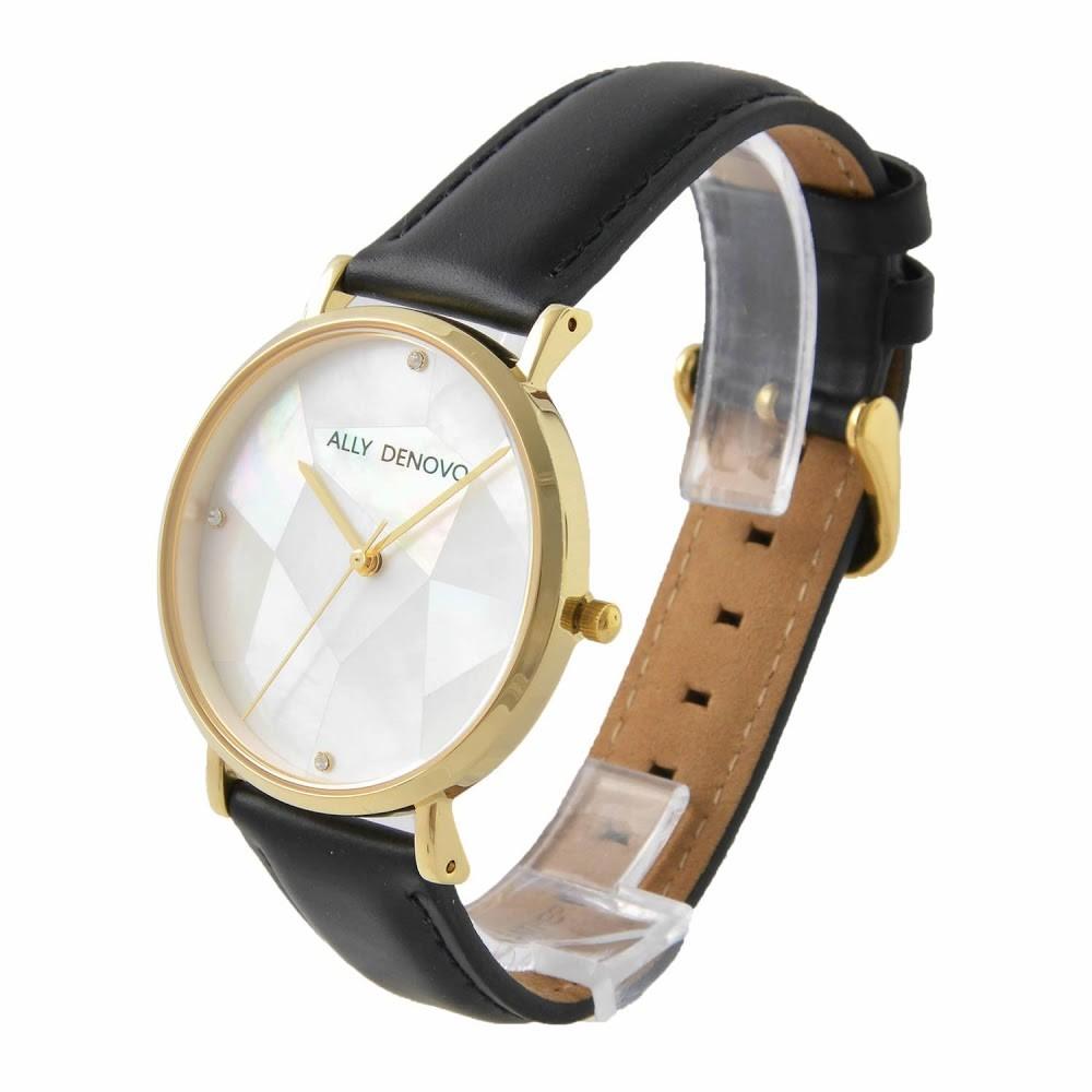 アリーデノヴォ ALLY DENOVO AF5003.8 ガイアパール レディース 腕時計
