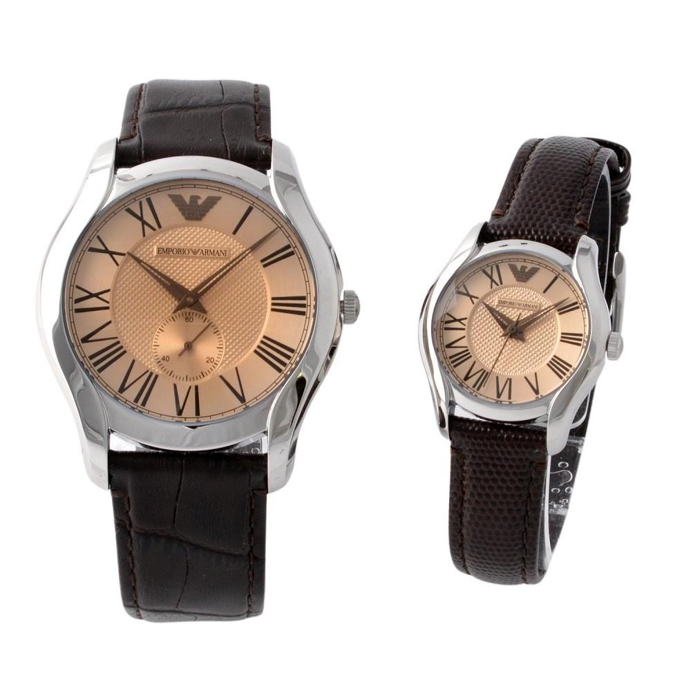 エンポリオ・アルマーニ EMPORIO ARMANI AR9110  ペアウオッチ メンズ&レディース腕時計