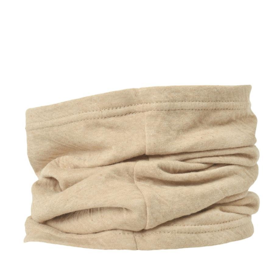 ネックウォーマー レディース 秋冬 ネックカバー UVカット 綿 薄手 スヌード ネックゲイター 日焼け対策 首  ミックス オーガニックコットン ロングターバン casualbox 24