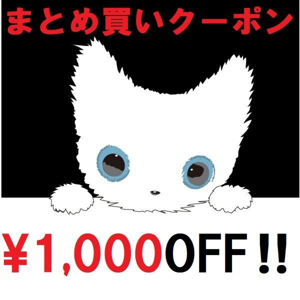 CAT,CAT,CAT!まとめ買いで店内全品1000円OFF!!