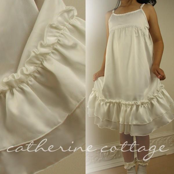 89fb9cabde42c 子供ドレス用 ロングキャミソール(インナードレス) こども 子供服 ...