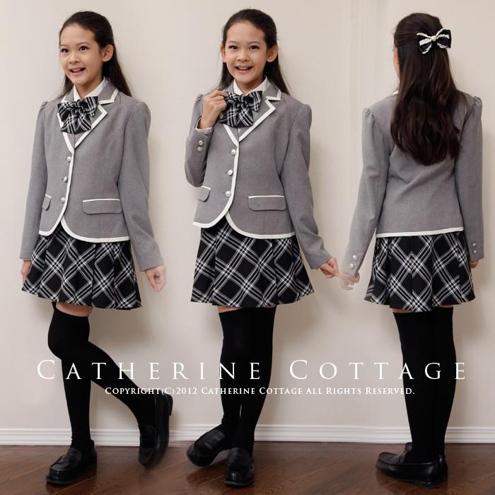 卒業式スーツ 女の子 140cm 150cm 小学生 キッズ
