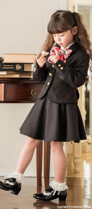 女の子 ジャケット スカート