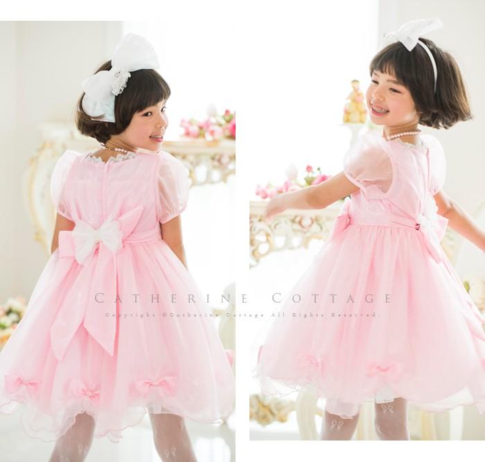 子供用ドレス ピンク 120