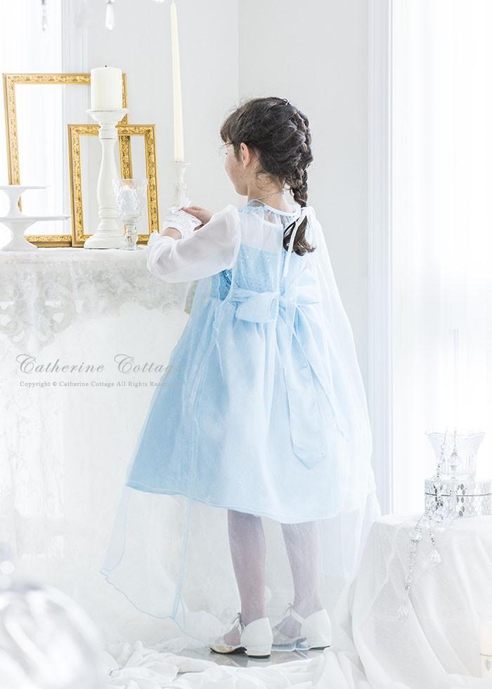 7a9ea4ebde70d8 子供ドレス ハロウィン 結婚式用キッズ服 フォーマル 雪の女王風 ...
