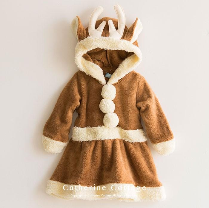 ベビー服 カバーオール ロンパース クリスマス サンタ トナカイ 着ぐるみ 男の子 女の子