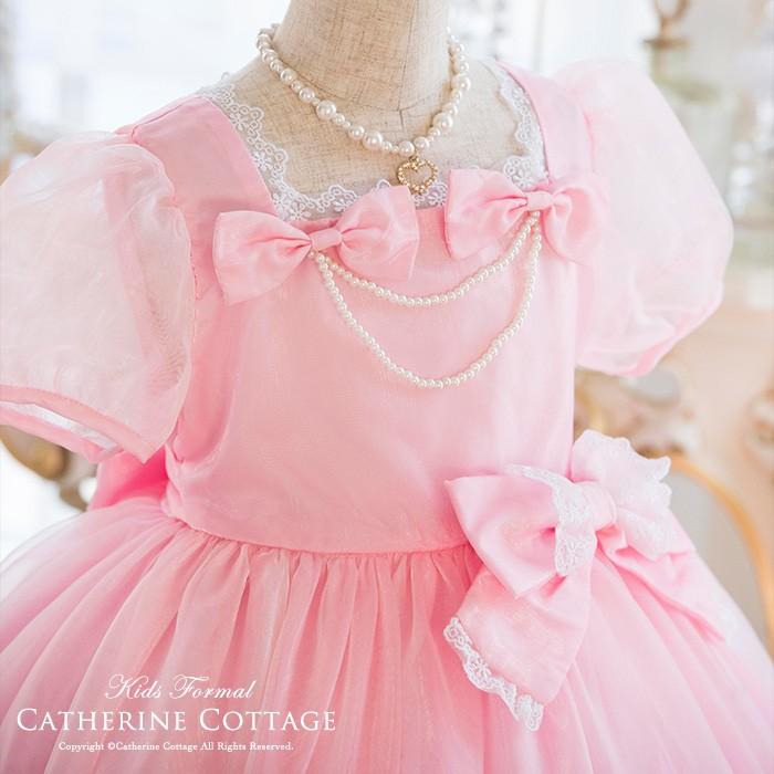 女の子 ドレス ピンク