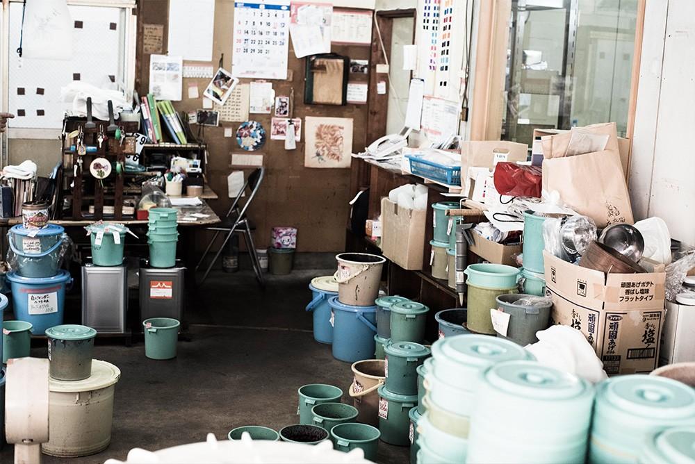 手捺染工房の職人