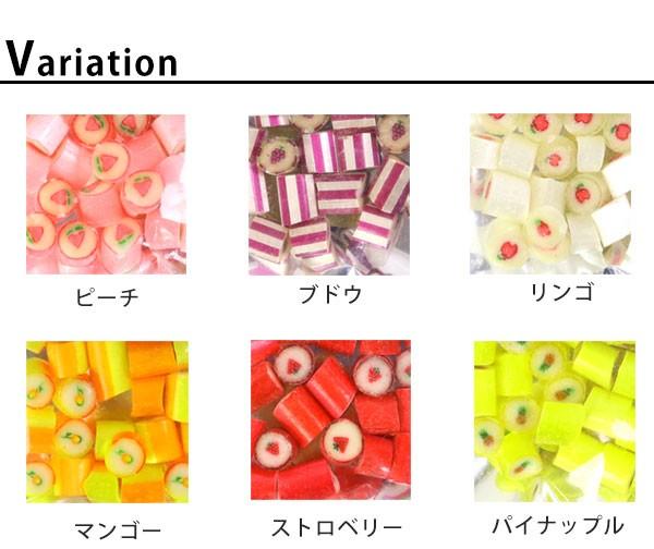 2袋までネコポス選択したら送料無料※条件付き パパブブレ papabubble 選べる13種類 パウチタイプ 40g フルーツ キャンディー パパブブレ 大阪 話題 アートキャンディー