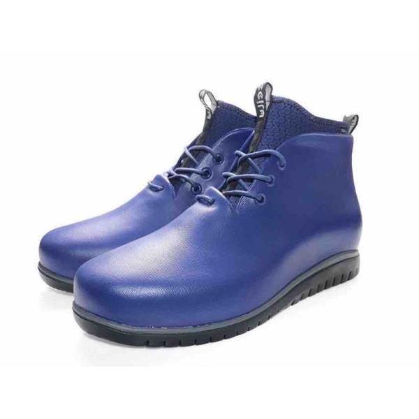 レインシューズ メンズ レインブーツ おしゃれ ショート 防水 雨 長靴 軽量 スニーカー チル ccilu アウトドア|ccilu|29