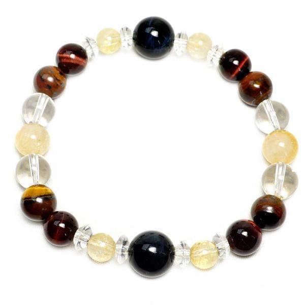 パワーストーン ブレスレット 選べる7種類 タイガーアイ 水晶 天然石|ccr|09