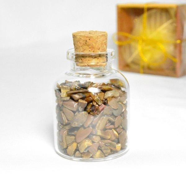 送料無料 パワーストーン さざれ石 ガラス小瓶 ローズクォーツ 水晶 タイガーアイ 天然石|ccr|11