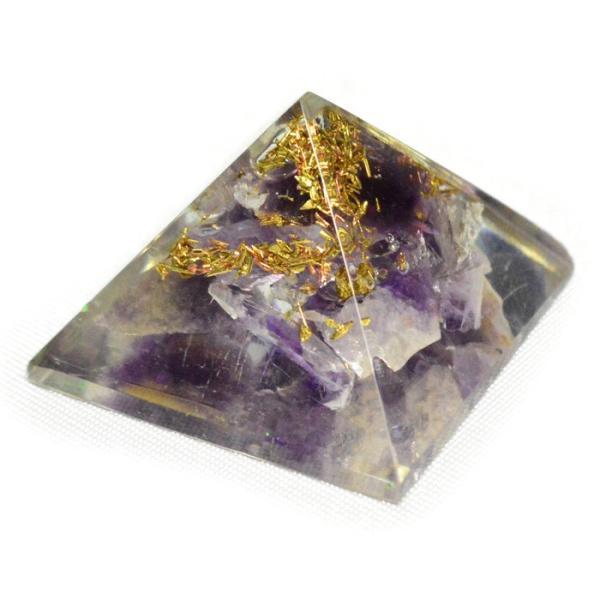 パワーストーン 置き物 ミニオルゴナイト ピラミッド 天然石|ccr|16